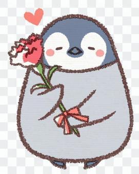 Mom Thanks Penguin chick