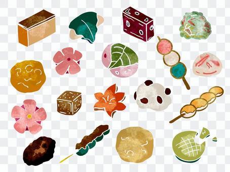 日本糖果圖