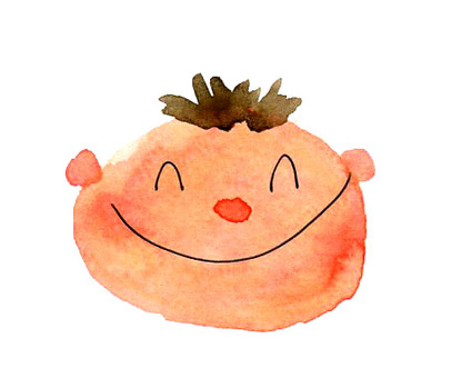 Boy smiling face