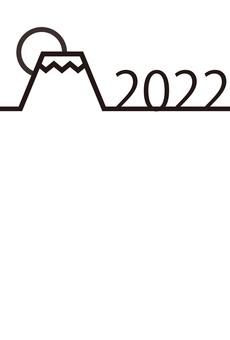 7_新年賀卡(線,第一次日出,黑色,垂直)