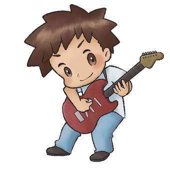 吉他手(男)