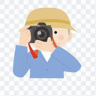 Grandpa, camera