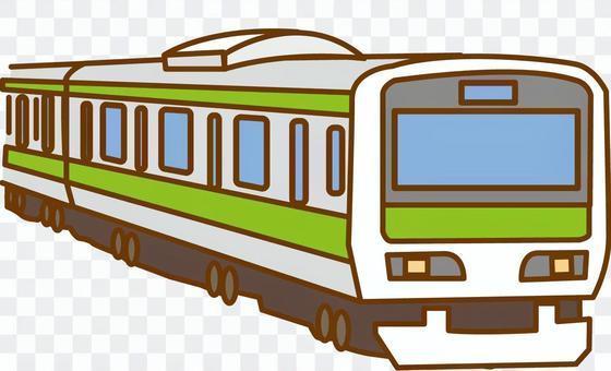 火車山手線