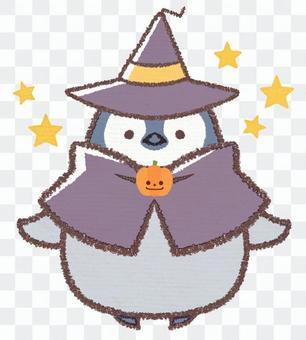 Halloween penguin chick