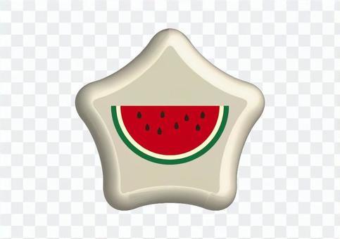 西瓜的按鈕
