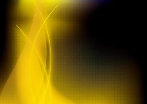 線條藝術黃色