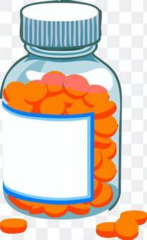 藥膠囊補充藥