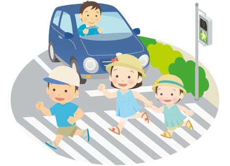 兒童過人行橫道