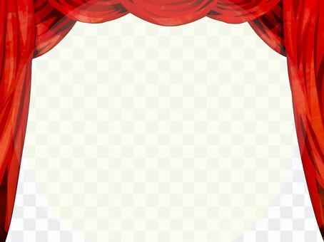 劇院紅幕舞台幕布