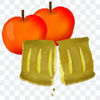 りんごとりんごパイ