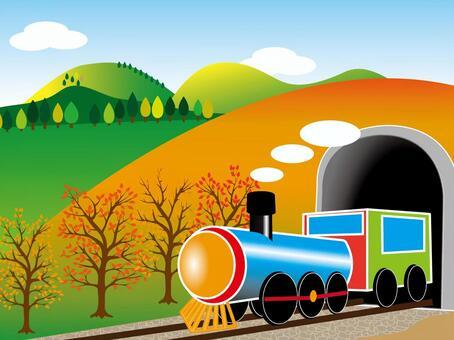 秋天的机车001在秋天