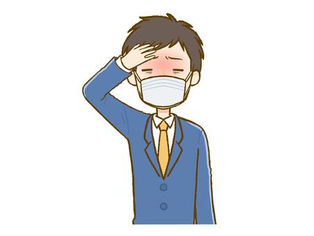 發燒套裝男士口罩(上身)
