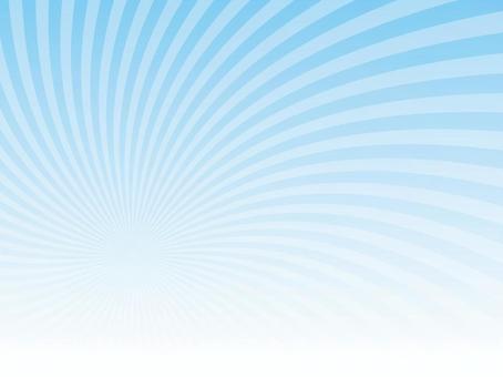 鬆散的漩渦(淺藍色)