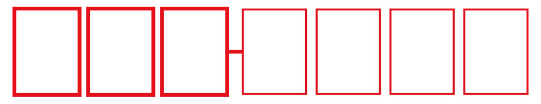 邮政编码框(用于非标准邮件)
