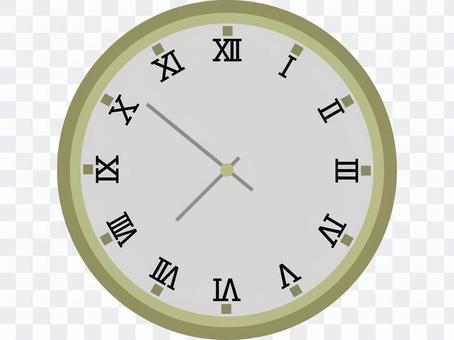 模擬牆上時鐘