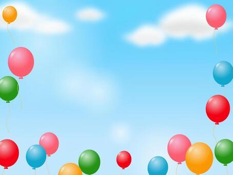 氣球裝飾框架10