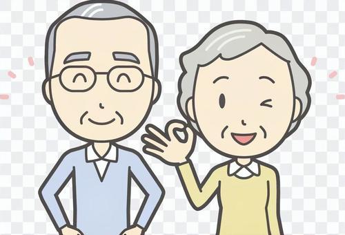 男人和女人設置老人007胸圍