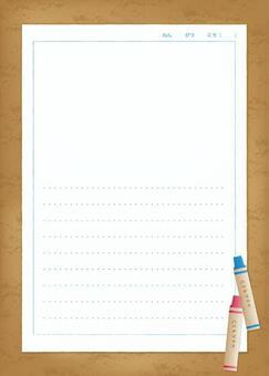 圖片日記紙