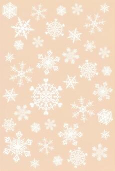 雪水晶框架·棕色·反面