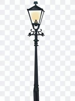 お洒落な街灯