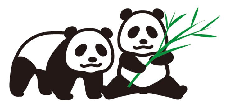 It's a panda