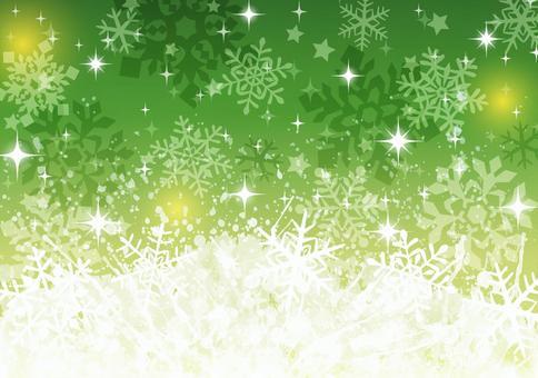 冬天背景2雪水晶