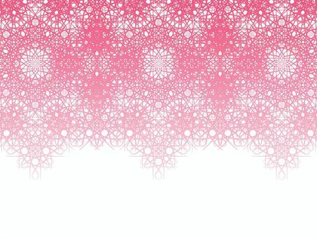 Braiding pattern (pink)