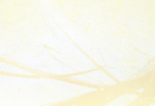 베이지와 흰색 차분한 붓 쓰기 일본식 배경