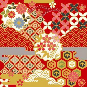 Chiyogami Tile 01