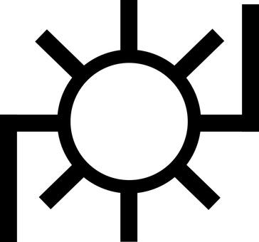 Power plant / substation map symbol