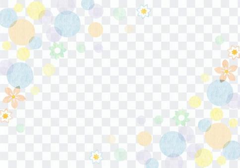 点_粉彩_框架