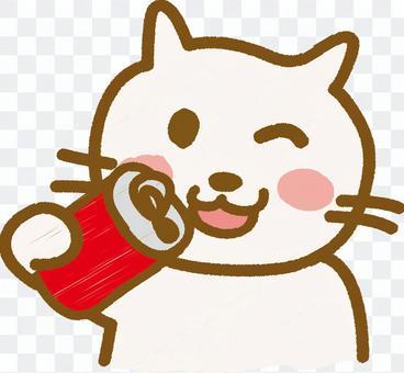 Drink juice _ Neko-chan cs