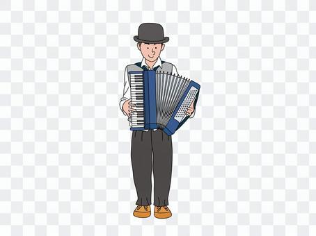手風琴演奏家