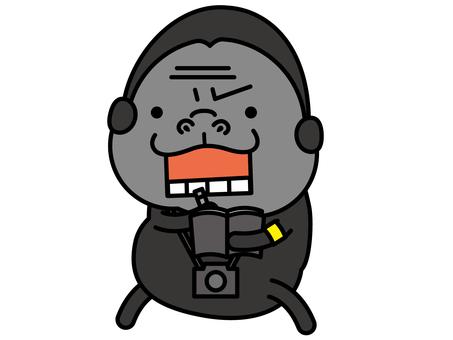 大猩猩記者