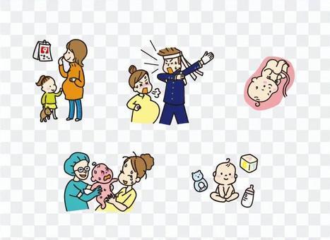 妊娠から出産までセット