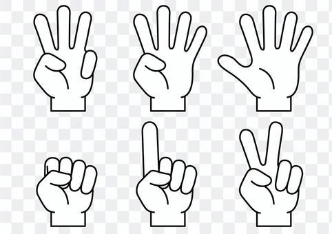 手指圖標1