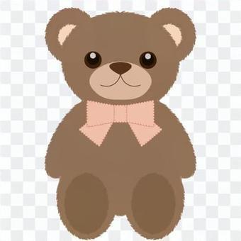 熊毛绒动物(布朗)