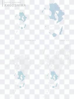 ドットマップ 鹿児島