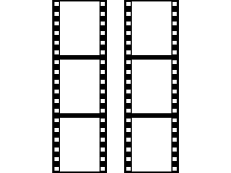 Negative fill vertical 6 frames