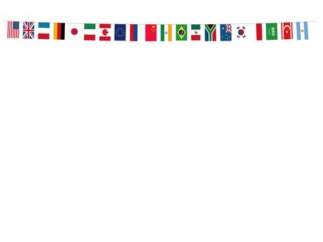 萬國旗(G20)