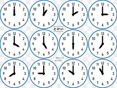 每小時只有一鍾
