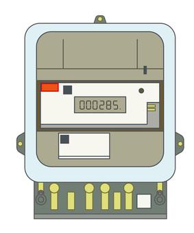 Power meter: wattmeter