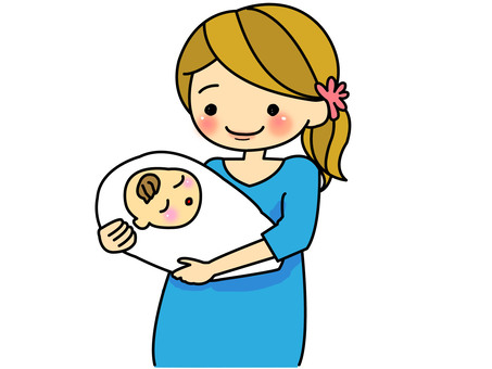 Pregnant woman (after giving birth)