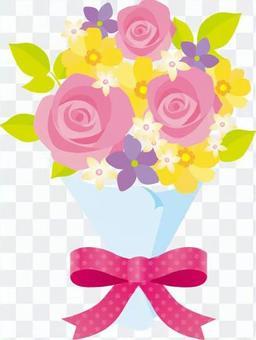 花束粉紅色