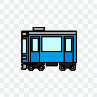 火車的插圖(普通車輛)