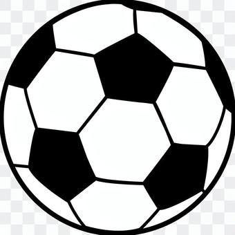 足球_簡單的線描