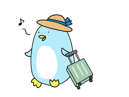 企鵝去旅行