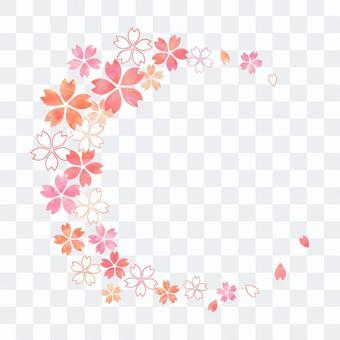 Cherry Pastel _圓形框架1852