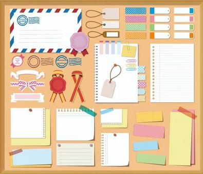 Notes / Notes / Sticky Notes /文具套裝