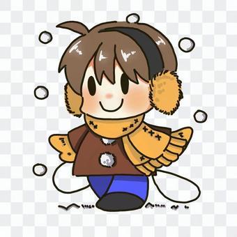 冬(男の子)